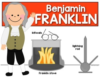Inventor Posters (Ben Franklin, George Washington Carver and Thomas Edison}