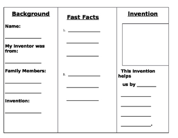 Inventor Research Brochure