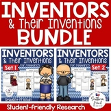 Inventor Research Project Posters BUNDLE