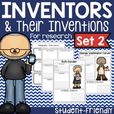 Famous Inventors & Inventions Research Project Posters - Set Two