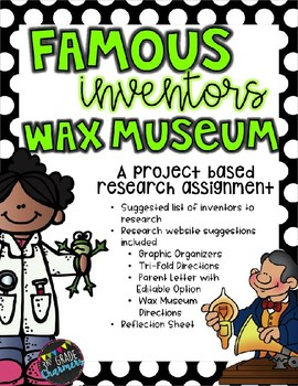 Inventor Wax Museum Research Project