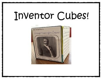 Inventor and Invention Cubes