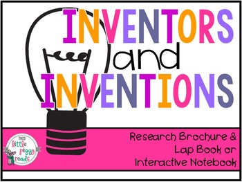 Inventor and/or Biography Research Brochure with Example and Rubric