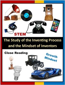 Thomas Edison and Henry Ford: Close Reading Lessons and STEM Challenge