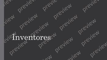 Inventors PPT Presentation (Spanish)