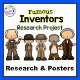 Famous Inventors Research Project  | Research Project Template | Posters