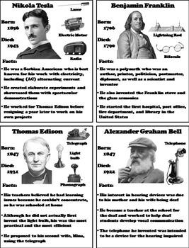 Famous Inventors Activity by Science Spot | Teachers Pay ...