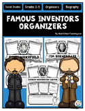 Inventors & Inventions Research Organizers {Pack of 20}