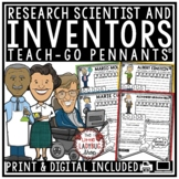Inventors Research Templates and Scientist Research Projec
