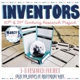 Inventors Research Project for Famous Inventors of the 20th and 21st century