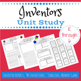 Inventors and inventions unit study