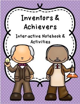 Inventors & Achievers Interactive Notebook & Activities