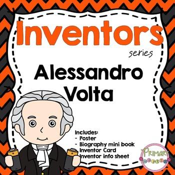 Inventors - Alessandro Volta