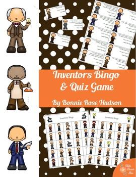 Inventors Bingo & Quiz Game