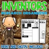 Inventors Biography Report & Informational Writing: Google Classroom