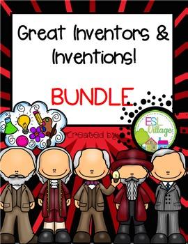 Inventors Booklets {BUNDLE}