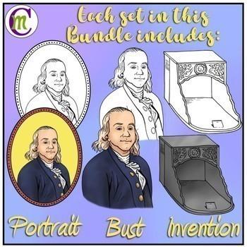 Inventors Clip Art Bundle