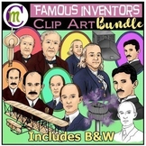 Inventors Clip Art Bundle
