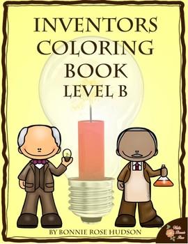 Inventors Coloring Book-Level B