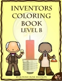 Inventors Coloring Book-Level B