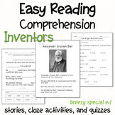 Inventors - Easy Reading Comprehension for Special Education