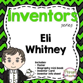 Inventors - Eli Whitney