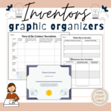 Inventors Graphic Organizers- Turn of the Century- Famous