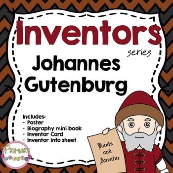Inventors - Johannes Gutenburg