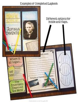 Inventors Lapbook