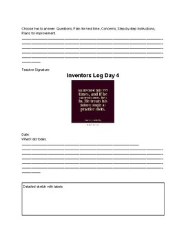 Inventors Log
