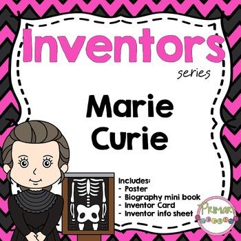 Inventors - Marie Curie