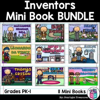 Inventors Mini Book Bundle for Early Learners