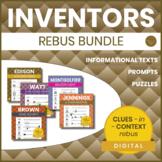 Inventors Rebus Bundle - CLUES-in-CONTEXT Rebuses