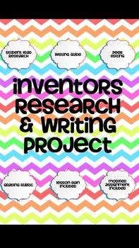 Inventors Research & Writing Mini-Unit