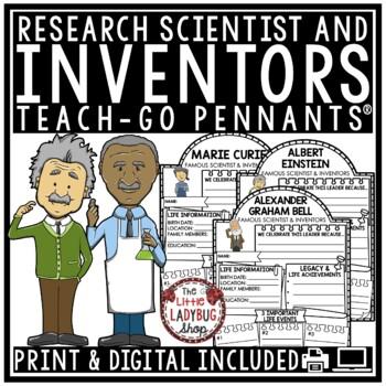 Digital Inventors Research -Paperless Activities Google Classroom™
