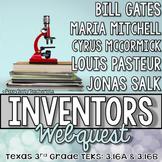 Inventors [Salk, Pasteur, Mitchell, Gates, & McCormick]