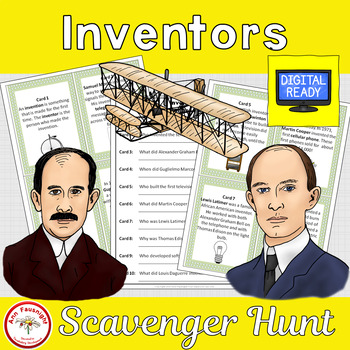 Inventors Scavenger Hunt