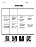 Inventors Sort