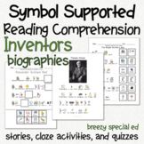 Inventors - Symbol Supported Picture Reading Comprehension for Special Education