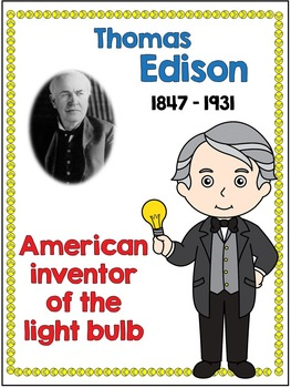 Inventors - Thomas Edison