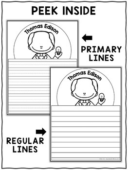 Writing Crafts - Inventor Activities