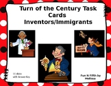 Inventors and Immigrants: Turn of the Century Task Cards
