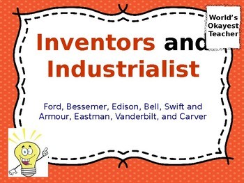 Inventors and Industrialists Power Point