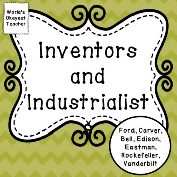 Inventors and Industrialists