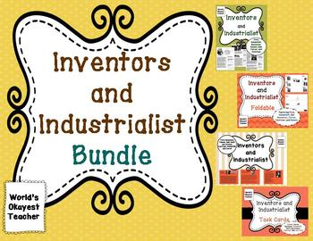 Inventors and Industrialists Bundle