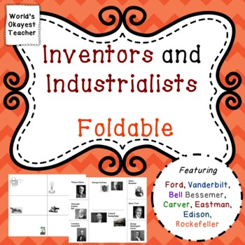 Inventors and Industrialists Foldable