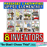 Famous Inventors and Inventions: Reading Passages: Interactive Notebooks