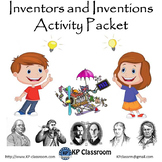 Inventors and Inventions Activity Packet and Worksheets