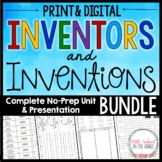 Inventors and Inventions BUNDLE | Distance Learning Google