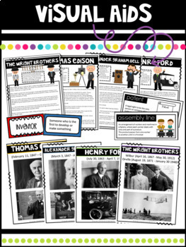 Inventors and Inventions Interactive Lapbook and Mini-Unit